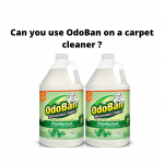 Can you use OdoBan on a carpet cleaner
