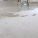 Can you use a carpet cleaner on concrete floor