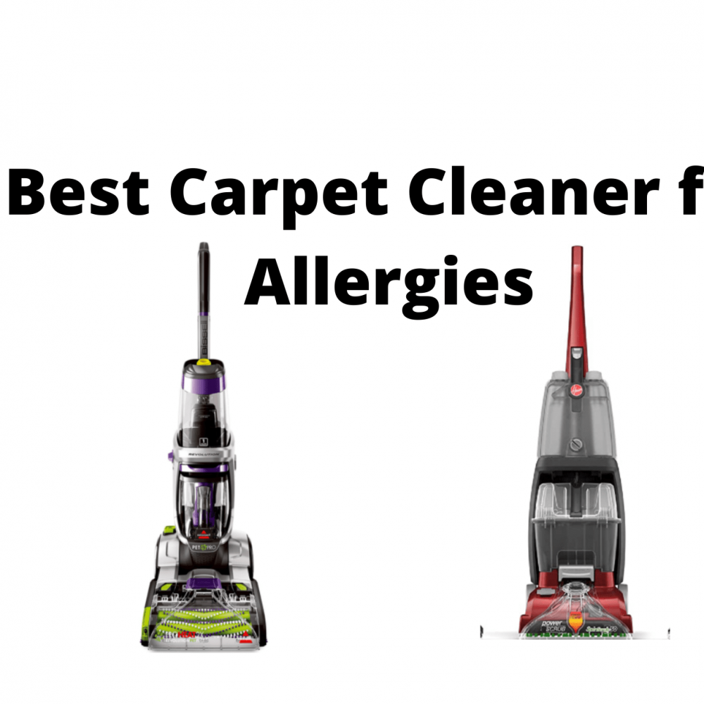 Best Carpet Cleaner for Allergies, Dust Removing