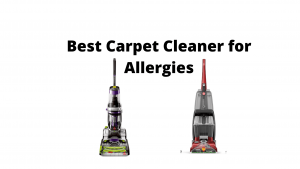 best carpet cleaner for pet allergies